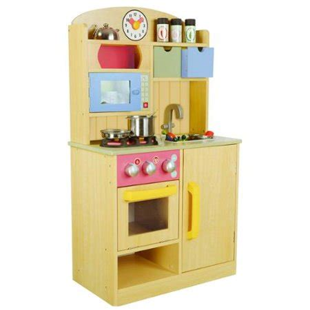 Teamson Kids Little Chef Burly Wood Kitchen With
