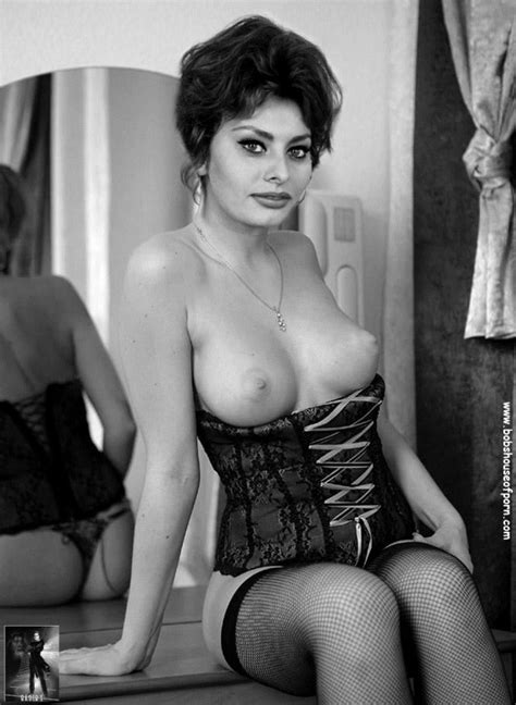 Lifestyles Of The Nude And Famous Sophia Loren
