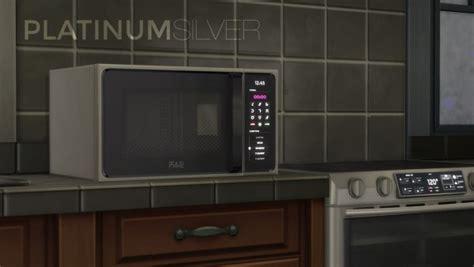 mod  sims hb macrowave microwave oven  littledica