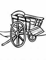 Coloring Cart Pages Golf Pioneer Handipoints Handcart Carts Template Arcade Printable Sketch Primarygames Getcolorings Cat Transportation sketch template