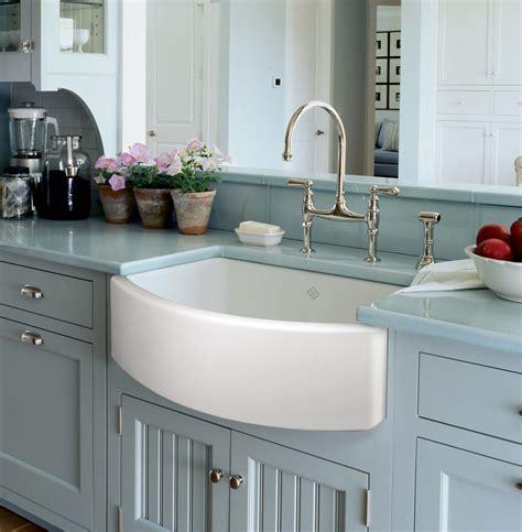 best sinks for kitchen new rohl shaws waterside fireclay sink wins best kitchen 4596