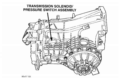 2004 Chrysler Pacifica Transmission Diagram by Chrysler 300 M A 2004 Chrysler 300m With A P1776 Code