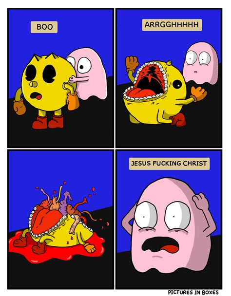 Pacman Meme - omg what is happening pac man know your meme