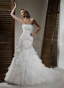 organza fit and flare wedding dress sangmaestro With fit and flare wedding dresses