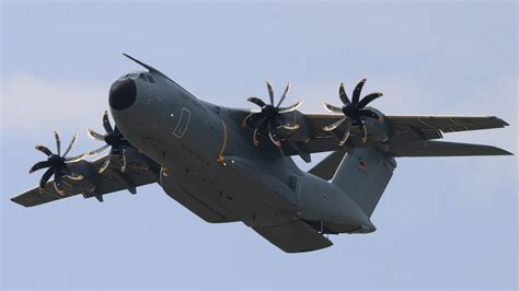 Airbus A400m 4k Ultra Hd Wallpaper Background Image