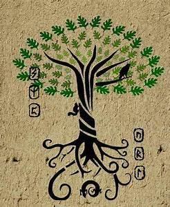 Symbole Mythologie Nordique : l 39 arbre de vie bric broc tatouage arbre de vie tatouage et arbre de vie ~ Melissatoandfro.com Idées de Décoration
