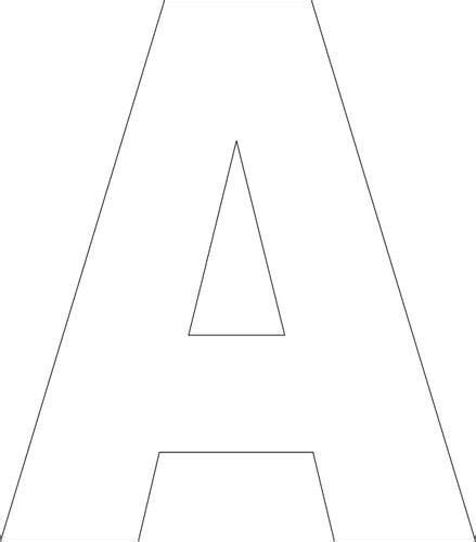 printable alphabet templates great  sewing crafts