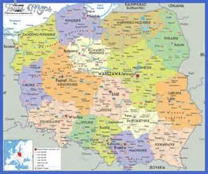 Map Poland 2016