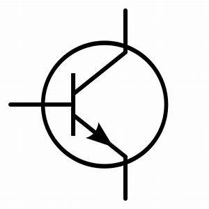 File Transistor Symbol Npn Svg