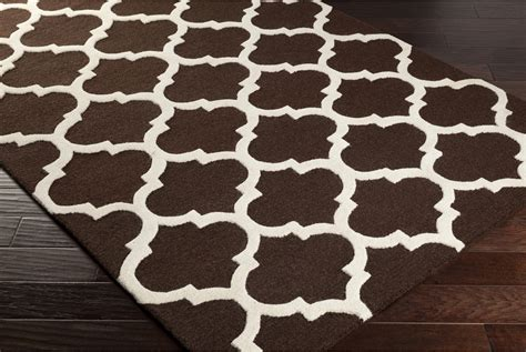 brown and white rug artistic weavers pollack stella awah2029 brown white area rug