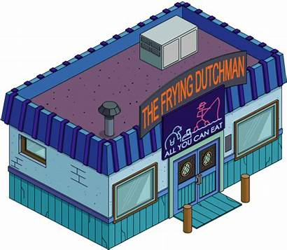 Buildings Dutchman Frying Squidport Wiki Simpsons Tapped