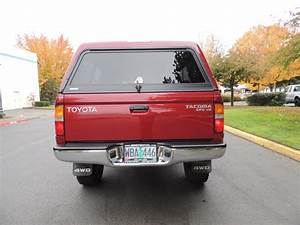 1998 Toyota Tacoma Sr5 V6   4x4    5  109k Miles