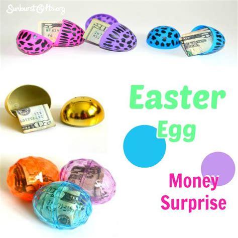 easter egg money surprise  images creative money