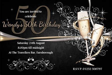 45+ 50th Birthday Invitation Templates Free Sample