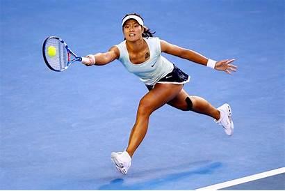 Tennis Player Li Na Female Asian Playing