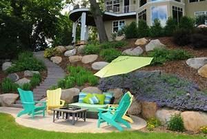 Jardin En Pente Raide : am nager son jardin en pente conseils pratiques et photos ~ Melissatoandfro.com Idées de Décoration