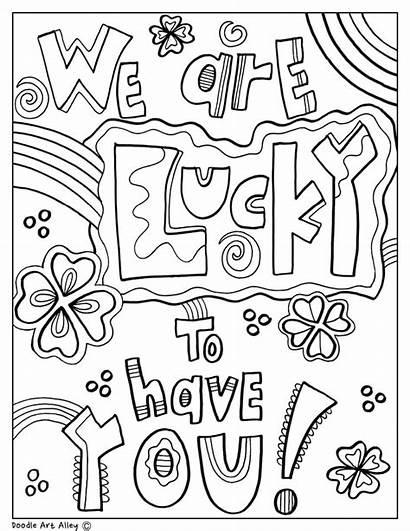 Appreciation Coloring Teacher Week Printable Doodles Printables