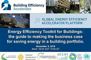 Energy Efficiency Toolkit For Buildings  The Guide To