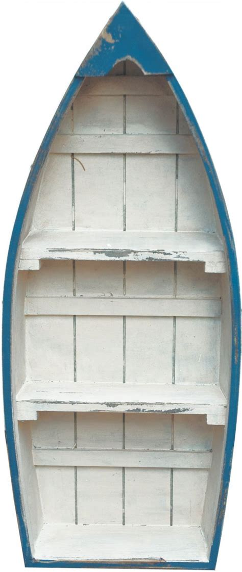 Large Boat Bookshelf by Home Treats Co Uk