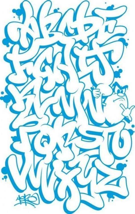 dibujar abecedario  letras en graffiti aprender