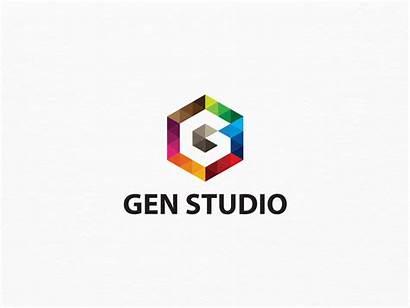 Letter Studio Gen Company Creative Starts Logos