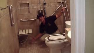 Disabled Bathroom by Handicap Bathroom Remodeling YouTube