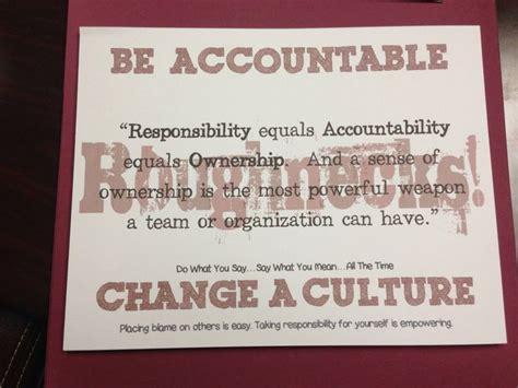 team accountability quotes quotesgram