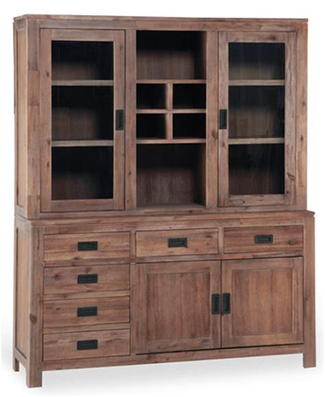 Macys Corner China Cabinet by Chagne China Cabinet Only At Macy S Furniture Macy S