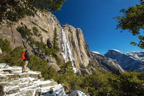 Hiking Upper Yosemite Falls In Winter Yosemite National Park