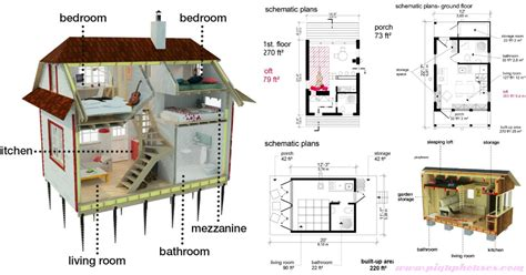plans  build   fully customized tiny house