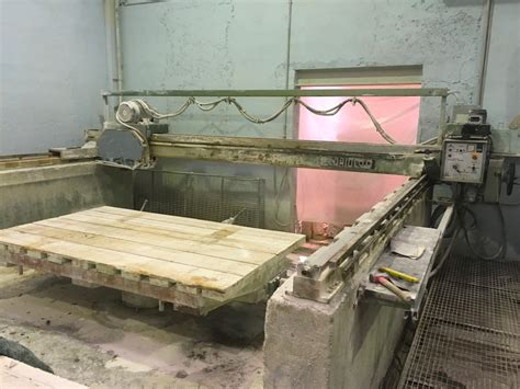 used bridge saw for sale pedrini m528