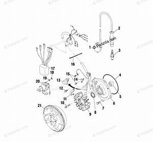 Polaris Atv 2001 Oem Parts Diagram For Magneto