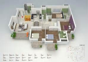small house floor plan 50 four 4 bedroom apartment house plans architecture