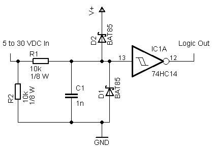 Digital Input Circuit Schematics Buscar Con Google