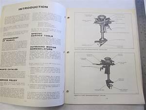 1970 Evinrude Outboard Service Manual 4 Hp Lightwin