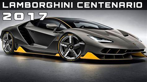 2017 Lamborghini Centenario Review Rendered Price Specs