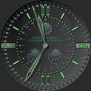 Traders Original Colors  U2013 Watchfaces For Smart Watches