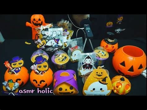 [asmr]할로윈 사탕 포장  Halloween Candy Packaging  비닐  사탕소리 Youtube
