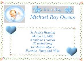 blessing invitation baby boy quotes about birth quotesgram