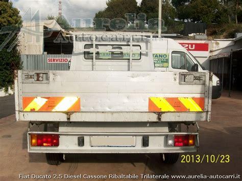 fiat ducato  cassone ribaltabile diesel usato