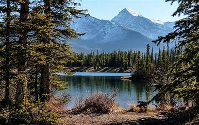 Canada Landscape Mountain Kanada Landschaft Desktop Wallpapers