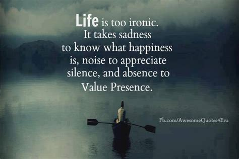 Life Is Ironic Quote With Image