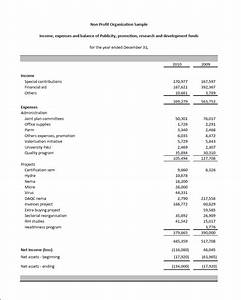 not for profit budget template - excel fsm npo financial statement masters