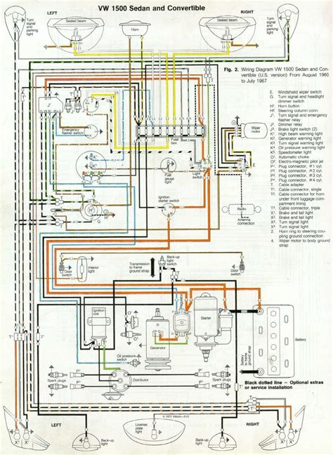 Vw Distributor Wiring Diagram by 66 And 67 Vw Beetle Wiring Diagram 1967 Vw Beetle