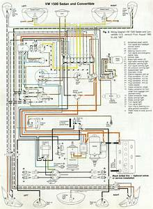 Vw Beetle Wiring Diagram 1967