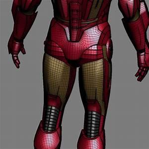 3D Printable Model: Mark VII Tony Stark Armor (MK 7 Suit ...