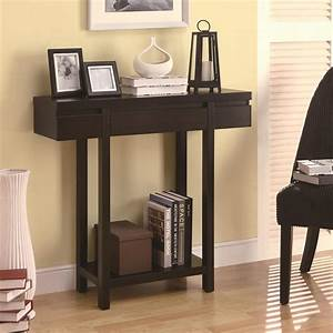 Coaster, Accent, Tables, Modern, Entry, Table, With, Lower, Shelf