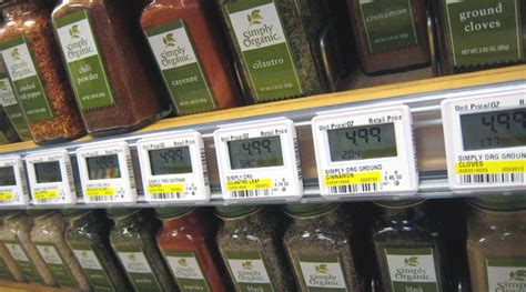 retailers finally  electronic price tags