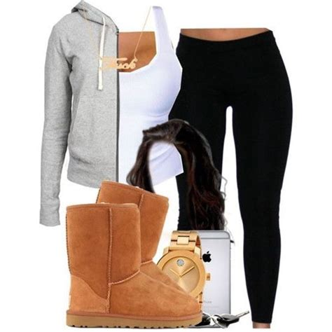 Cute Outfits For School With Leggings And Uggs