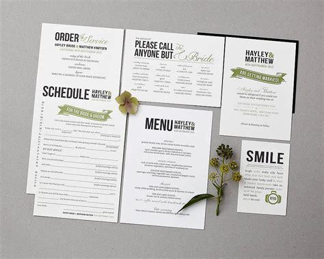 baker street wedding invitation set  doodlelove